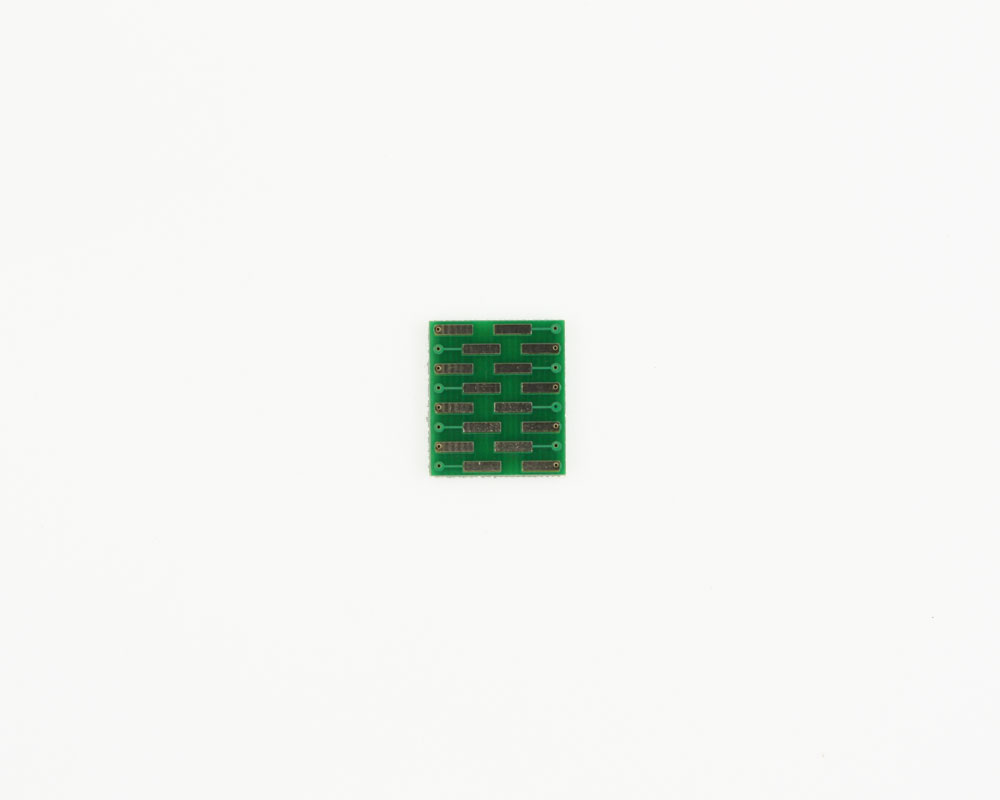 LGA-16 to DIP-16 SMT Adapter (0.5 mm pitch, 3 x 3 mm body) 1
