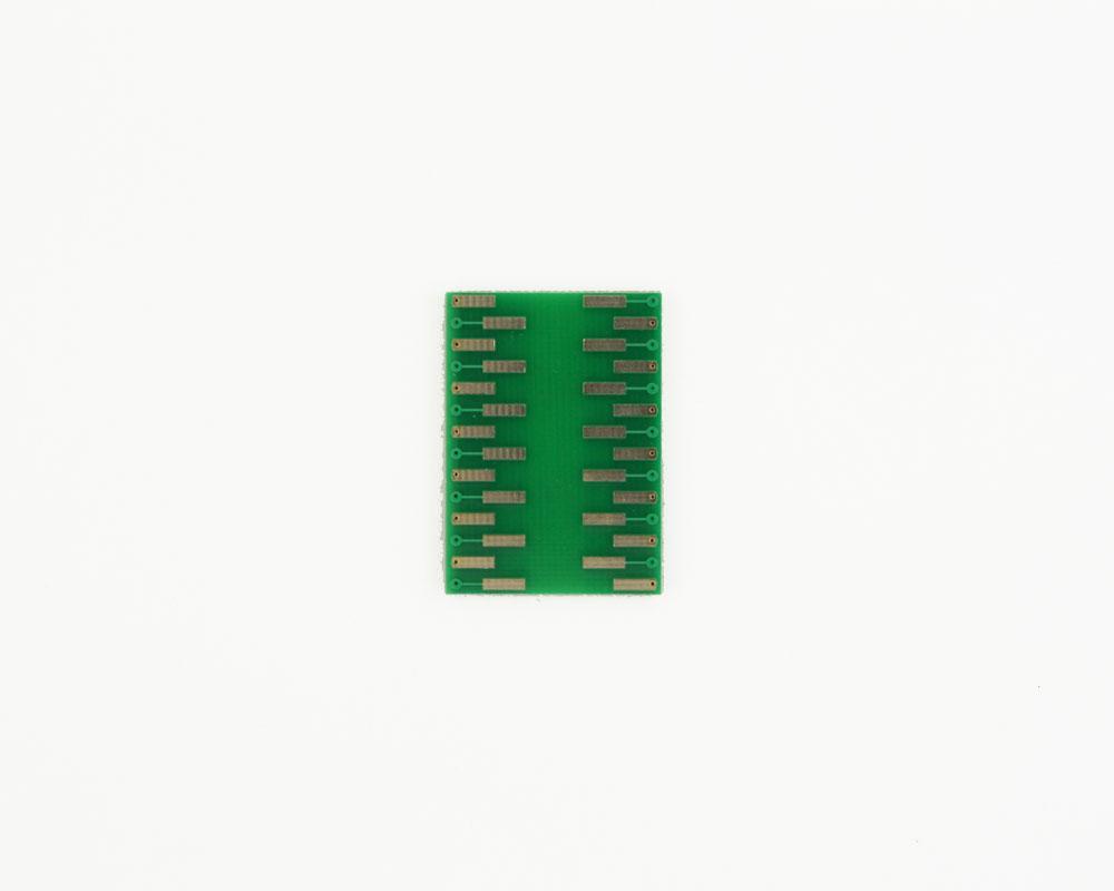 JLCC-28 to DIP-28 SMT Adapter (50 mils / 1.27 mm pitch) 1