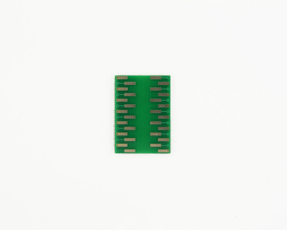 LCC-28 to DIP-28 SMT Adapter (50 mils / 1.27 mm pitch) 3