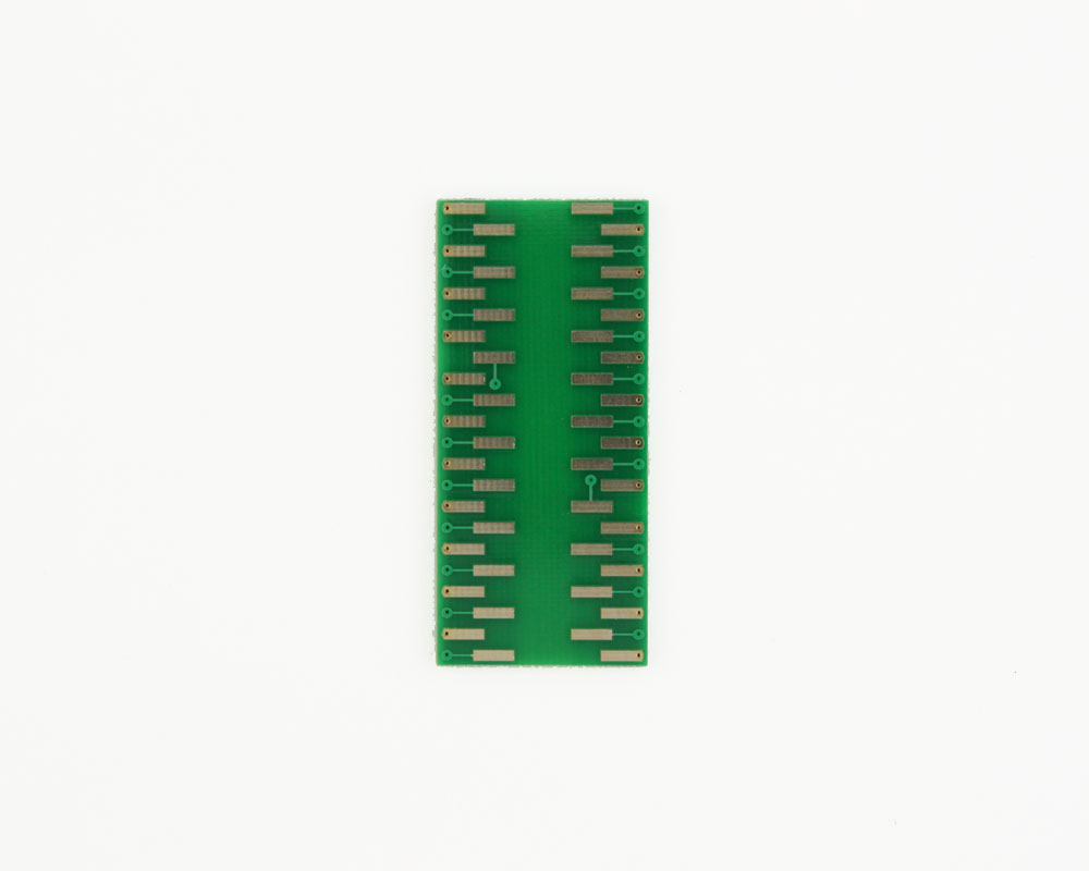 LCC-44 to DIP-44 SMT Adapter (50 mils / 1.27 mm pitch) 1