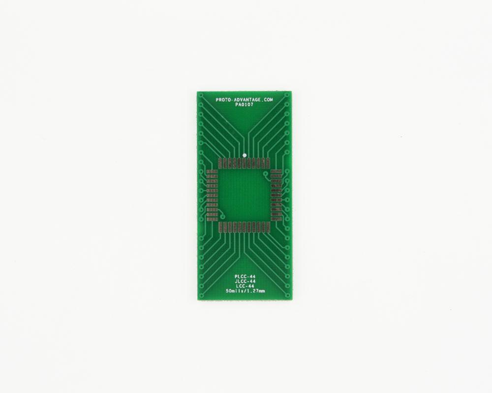 JLCC-44 to DIP-44 SMT Adapter (50 mils / 1.27 mm pitch) 2