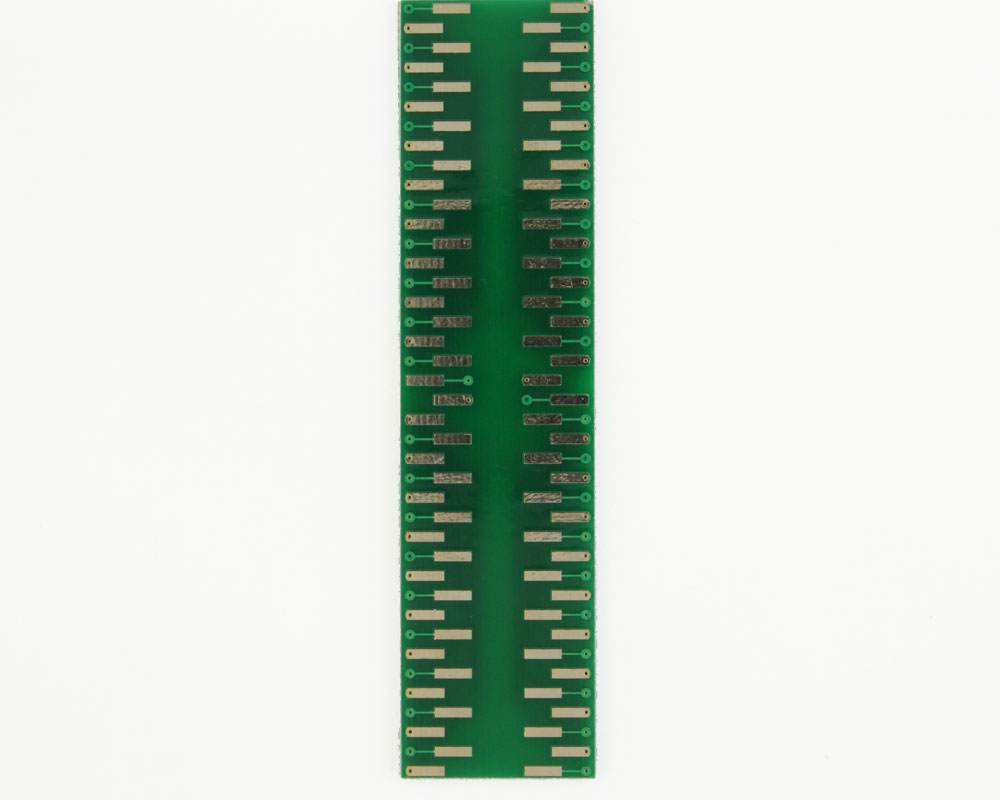 TQFP-80 to DIP-80 SMT Adapter (0.5 mm pitch, 12 x 12 mm body) 1