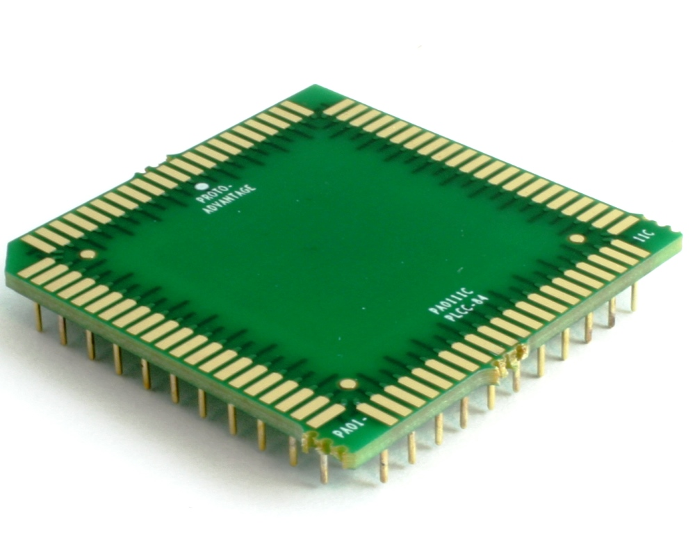 PLCC-84 to PGA-84 Pin 1 In SMT Adapter (50 mils / 1.27 mm pitch) Compact Series 0