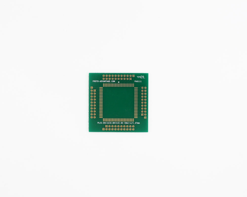 LCC-84 to PGA-84 SMT Adapter (1.27 mm pitch, 30 x 30 mm body) 2
