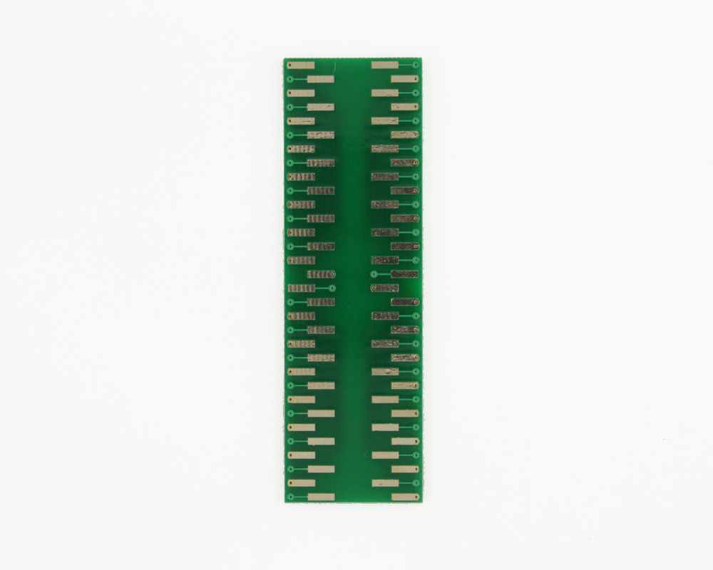 PQFP-64 to DIP-64 SMT Adapter (0.8 mm pitch, 14 x 14 mm body) 3