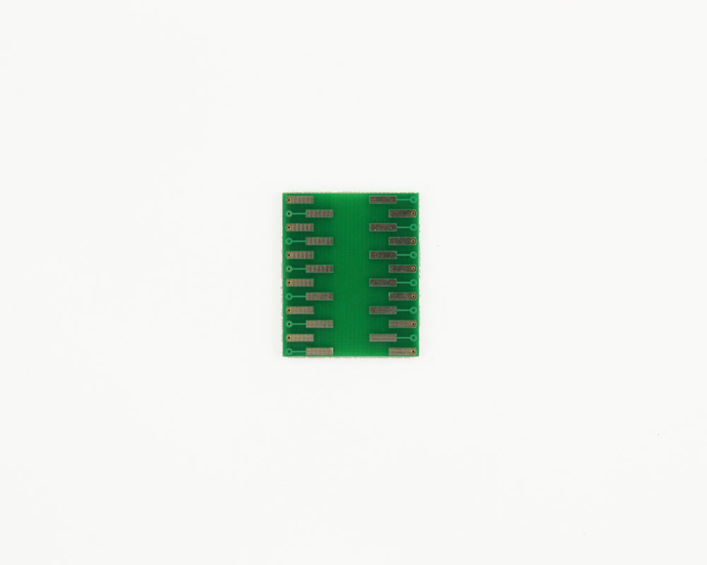 CSP-24 to DIP-24 SMT Adapter (0.5 mm pitch, 3.5 x 4.5 mm body) 1