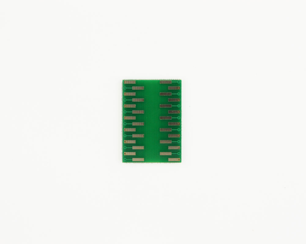 CSP-28 to DIP-28 SMT Adapter (0.5 mm pitch, 4.5 x 5.5 mm body) 1