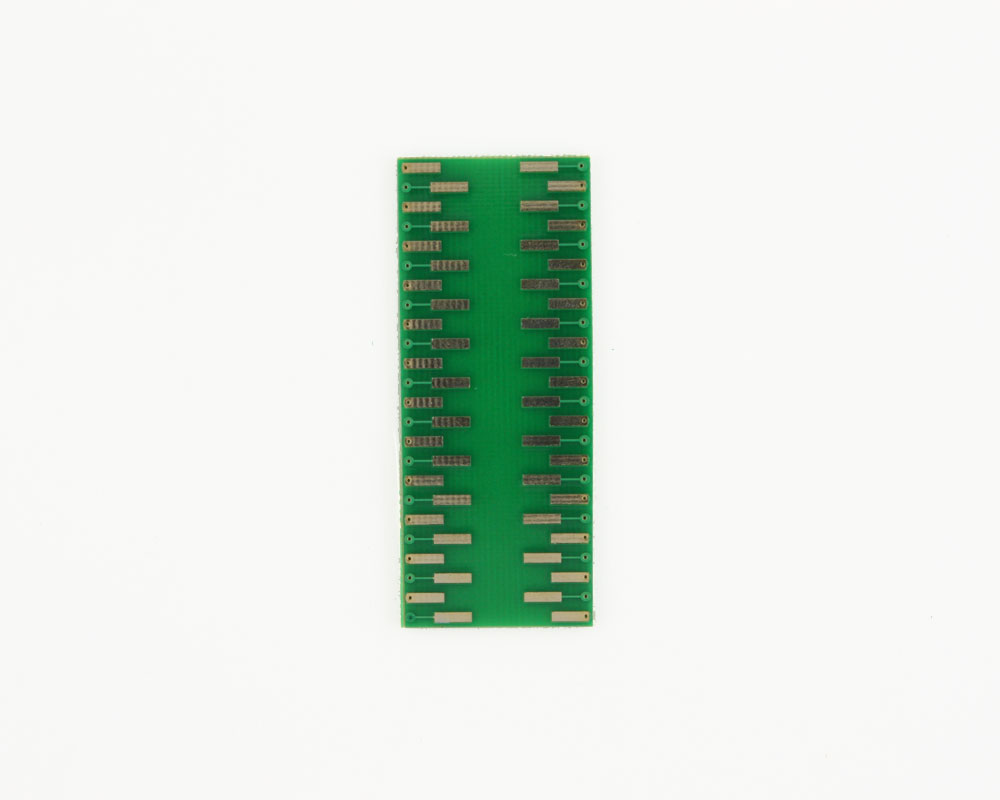 CSP-48 to DIP-48 SMT Adapter (0.5 mm pitch, 7 x 7 mm body) 1