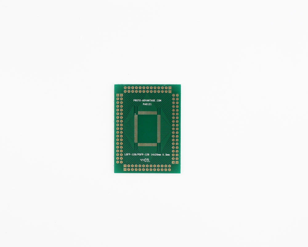 LQFP-128 to PGA-128 SMT Adapter (0.5 mm pitch, 14 x 20 mm body) 2