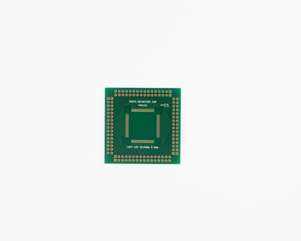 LQFP-128 to PGA-128 SMT Adapter (0.5 mm pitch, 20 x 20 mm body) 2
