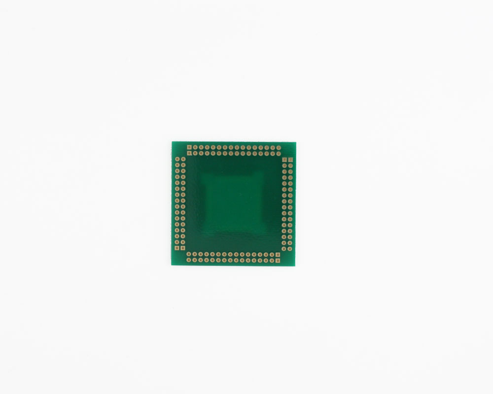 LQFP-128 to PGA-128 SMT Adapter (0.5 mm pitch, 20 x 20 mm body) 3