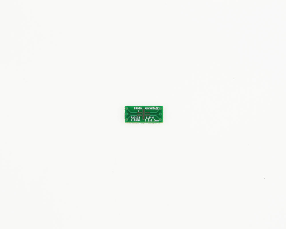 LLP-6 to DIP-6 SMT Adapter (0.65 mm pitch, 2.2 x 2.5 mm body) 2