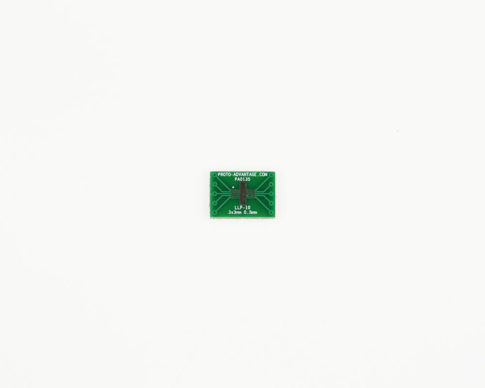 LLP-10 to DIP-10 SMT Adapter (0.5 mm pitch, 3 x 3 mm body) 2