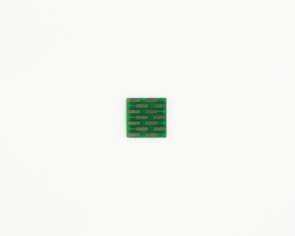 LLP-14 to DIP-14 SMT Adapter (0.5 mm pitch, 3 x 4 mm body) 1
