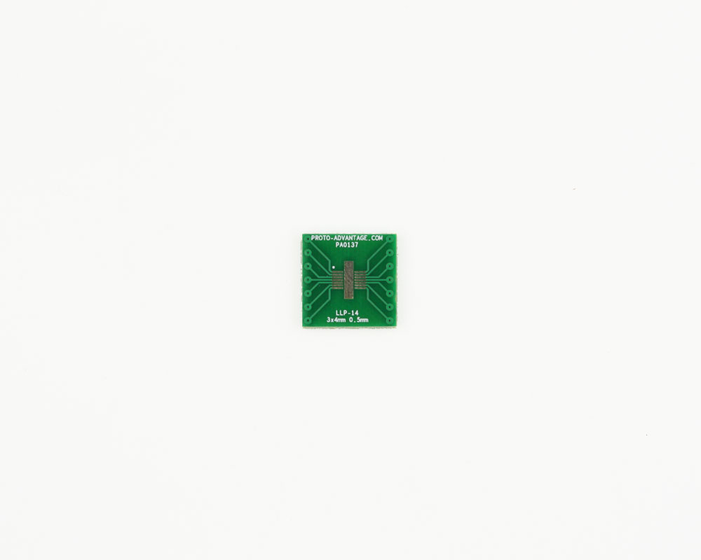 LLP-14 to DIP-14 SMT Adapter (0.5 mm pitch, 3 x 4 mm body) 2