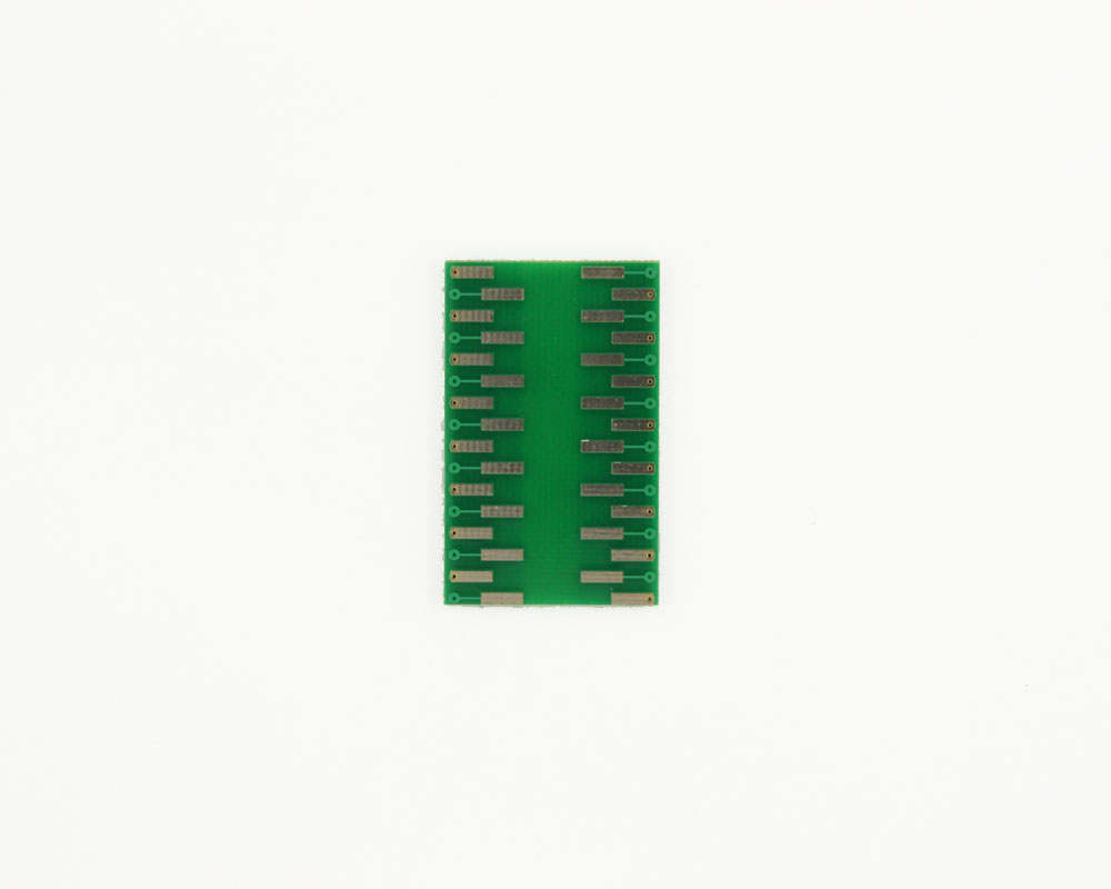 LLP-32 to DIP-32 SMT Adapter (0.5 mm pitch, 5 x 5 mm body) 1