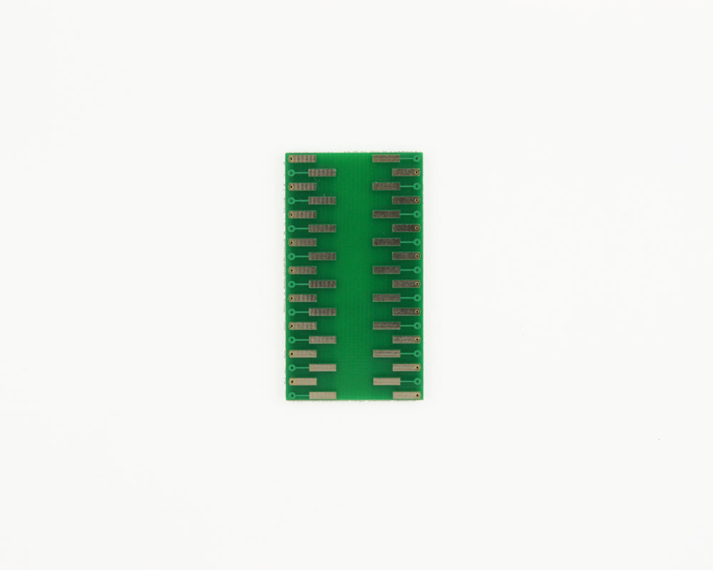 LLP-36 to DIP-36 SMT Adapter (0.5 mm pitch, 6 x 6 mm body) 1