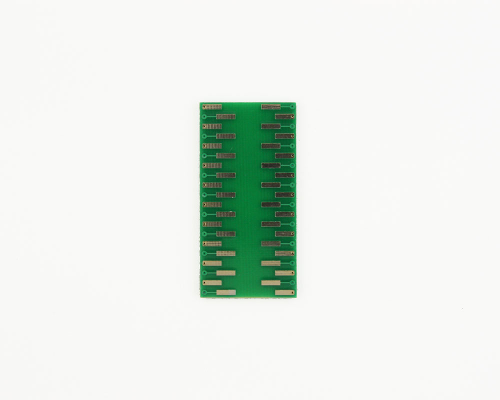 LLP-40 to DIP-40 SMT Adapter (0.5 mm pitch, 6 x 6 mm body) 1