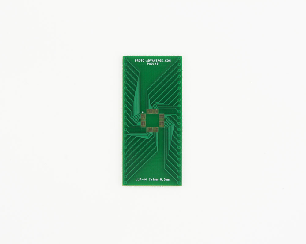 LLP-44 to DIP-44 SMT Adapter (0.5 mm pitch, 7 x 7 mm body) 2