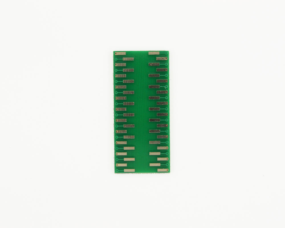 LLP-44 to DIP-44 SMT Adapter (0.5 mm pitch, 7 x 7 mm body) 3