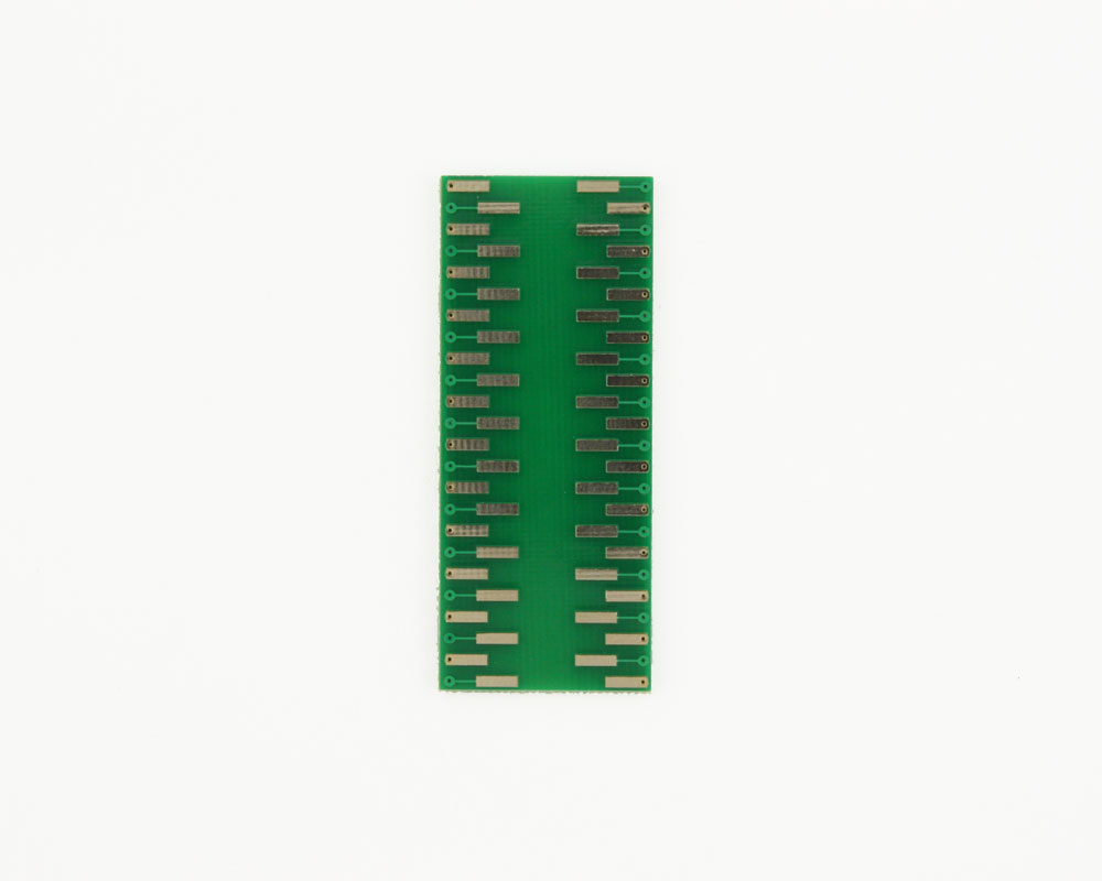 LLP-48 to DIP-48 SMT Adapter (0.5 mm pitch, 7 x 7 mm body) 1