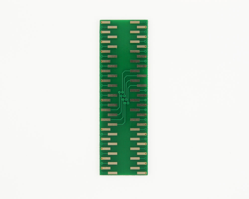 LLP-64 to DIP-64 SMT Adapter (0.5 mm pitch, 9 x 9 mm body) 1