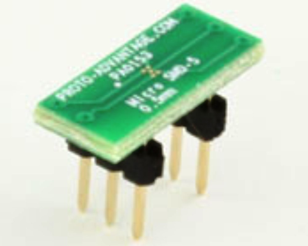 MicroSMD-5 BGA-5 (0.5 mm pitch) to DIP-6 SMT Adapter 0
