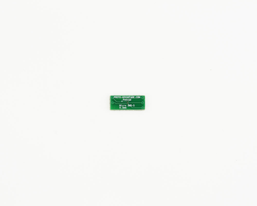 MicroSMD-5 BGA-5 (0.5 mm pitch) to DIP-6 SMT Adapter 2