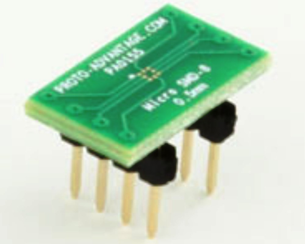 MicroSMD-8 BGA-8 (0.5 mm pitch) to DIP-8 SMT Adapter 0
