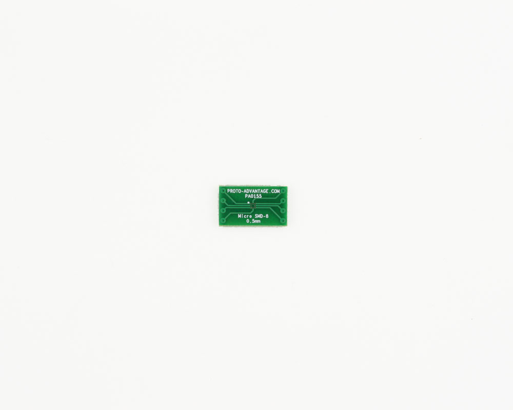 MicroSMD-8 BGA-8 (0.5 mm pitch) to DIP-8 SMT Adapter 2
