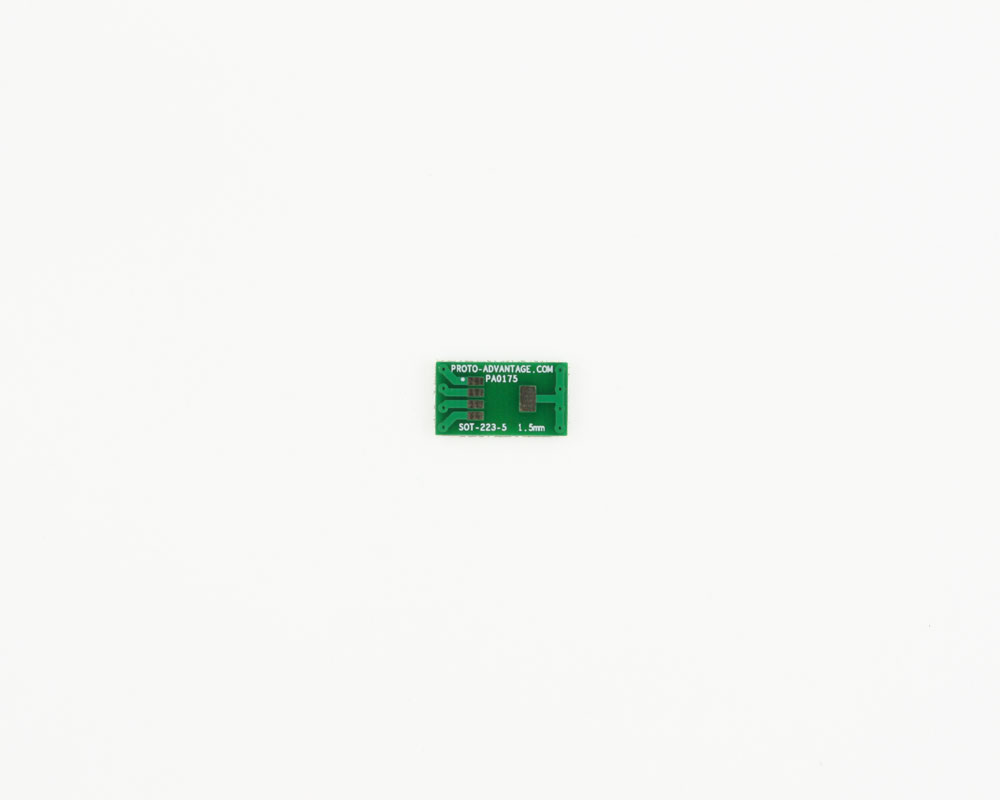 SOT-223-5 to DIP-8 SMT Adapter (1.5 mm pitch) 2