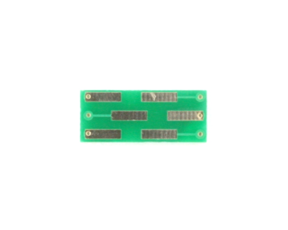 TSOT-6 to DIP-6 SMT Adapter (0.95 mm pitch, 1.65 x 2.97 mm body) 1