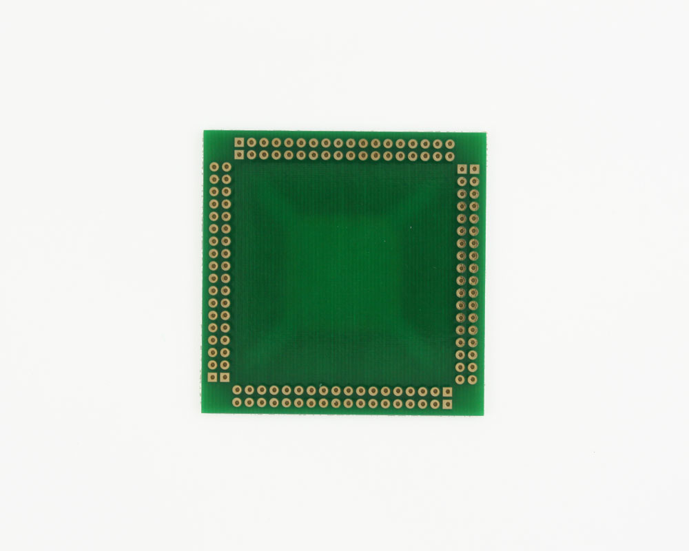 TQFP-144 to PGA-144 SMT Adapter (0.5 mm pitch, 20 x 20 mm body) 3