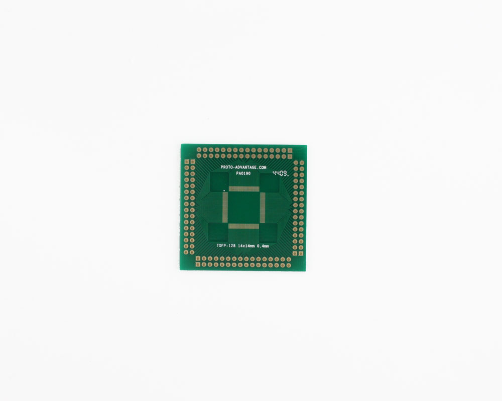TQFP-128 to PGA-128 SMT Adapter (0.4 mm pitch, 14 x 14 mm body) 0