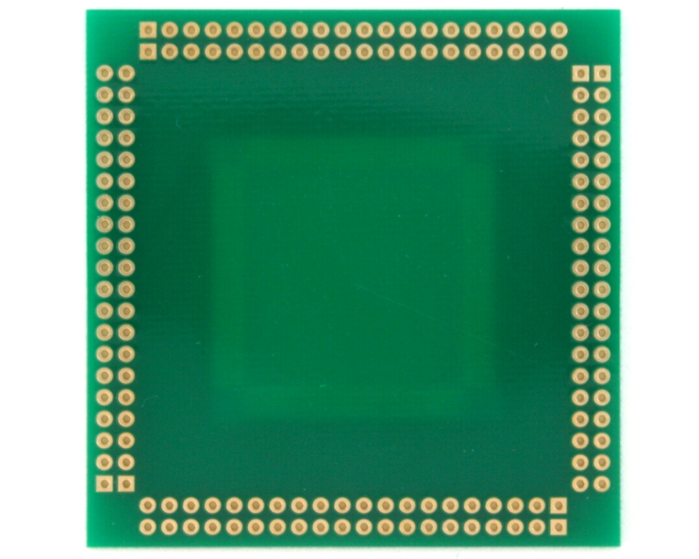 PQFP-160 to PGA-160 SMT Adapter (0.65 mm pitch, 28 x 28 mm body) 1