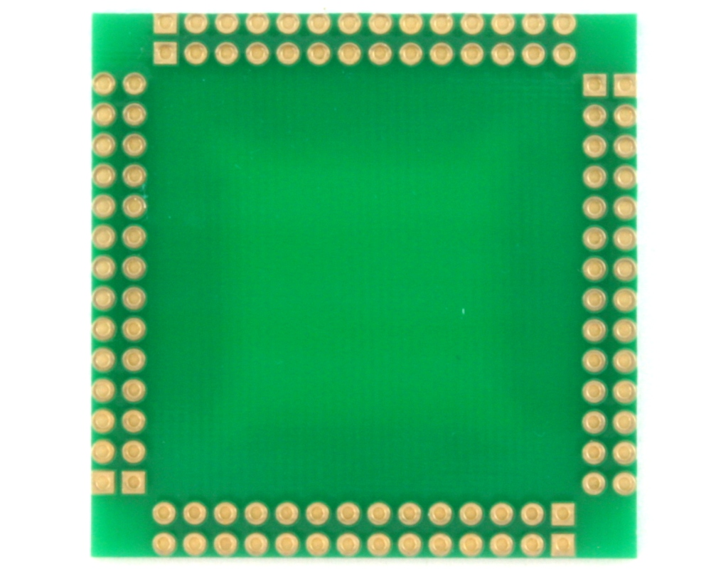 LQFP-112 to PGA-112 Adapter (0.65 mm pitch, 20 x 20 mm body) 1