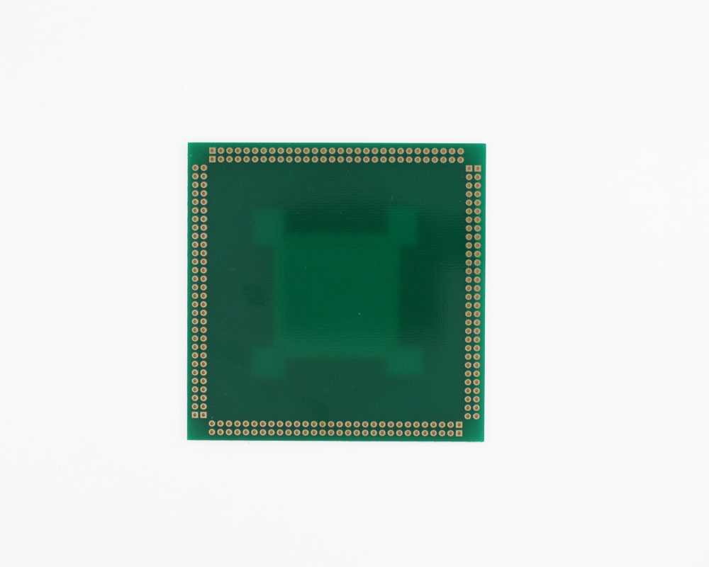 RQFP-240 to PGA-240 SMT Adapter (0.5 mm pitch, 32 x 32 mm body) 1
