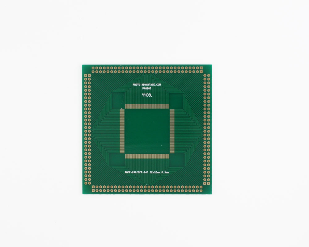 RQFP-240 to PGA-240 SMT Adapter (0.5 mm pitch, 32 x 32 mm body) 2