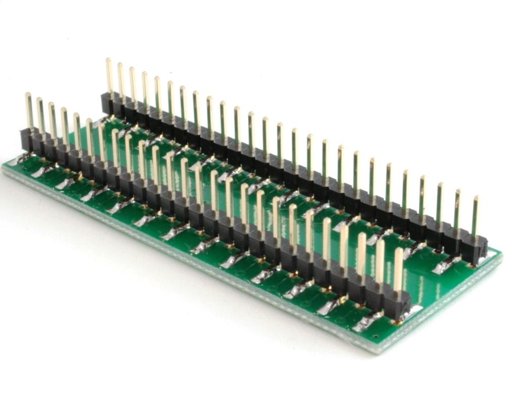 JLCC-52 to DIP-52 SMT Adapter (50 mils / 1.27 mm pitch) 1