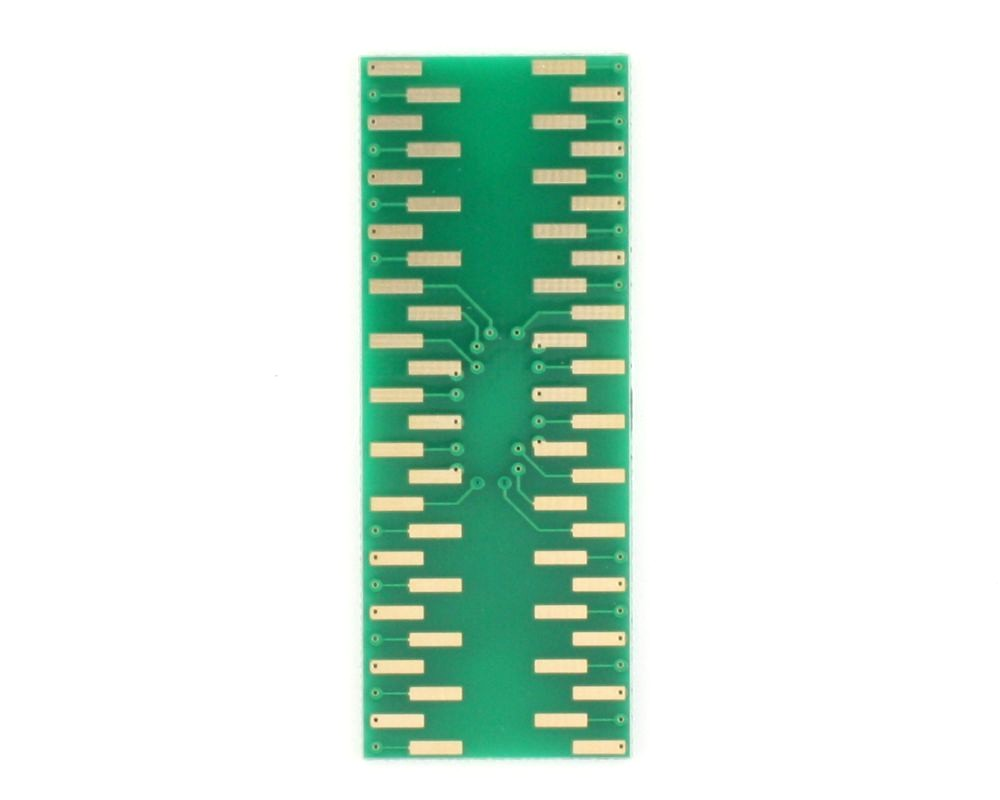 LCC-52 to DIP-52 SMT Adapter (50 mils / 1.27 mm pitch) 3