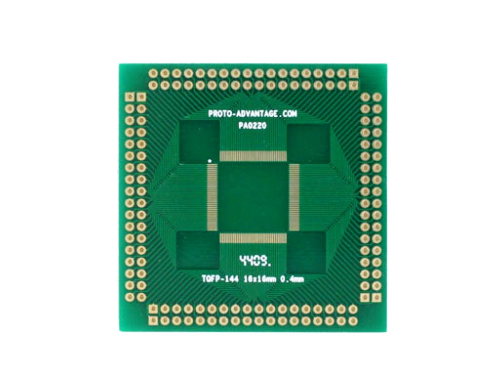 TQFP-144 to PGA-144 SMT Adapter (0.4 mm pitch, 16 x 16 mm body) 0
