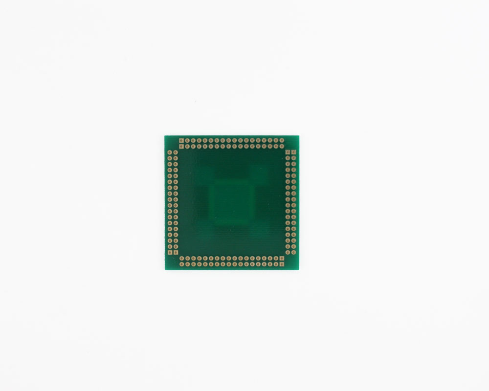 TQFP-144 to PGA-144 SMT Adapter (0.4 mm pitch, 16 x 16 mm body) 1