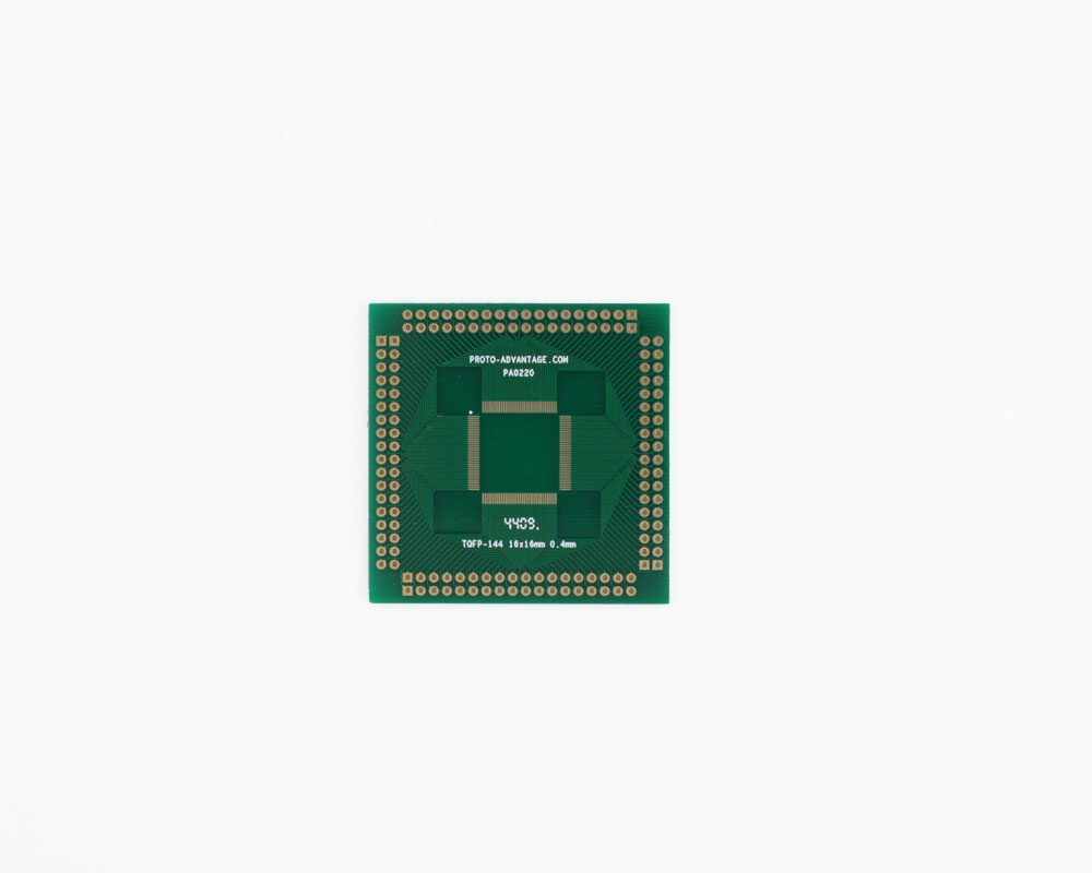 TQFP-144 to PGA-144 SMT Adapter (0.4 mm pitch, 16 x 16 mm body) 2