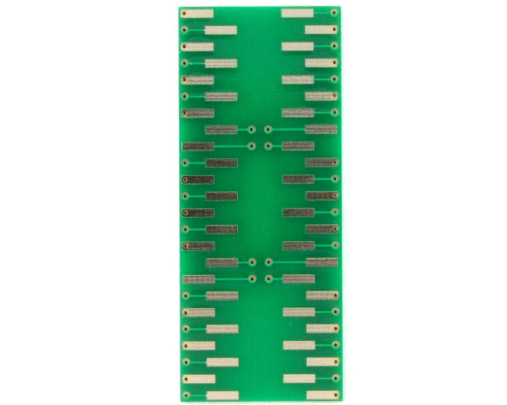 SSOP-48 to DIP-48 SMT Adapter (0.635 mm pitch, 7.5 mm body) 1