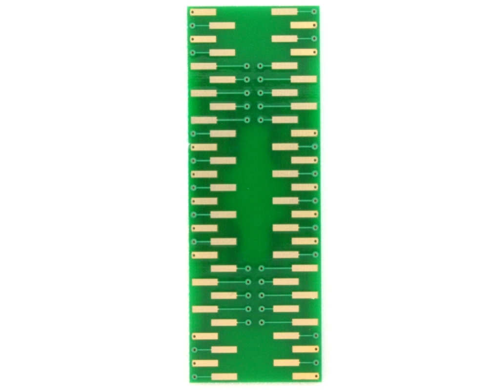 TSOP-56(II) to DIP-56 SMT Adapter (0.8 mm pitch, 12.7 mm body) 1