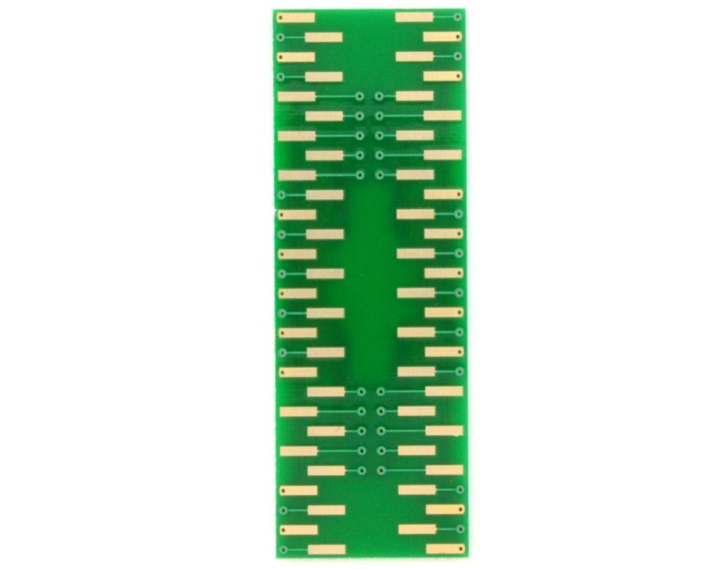 TSOP-56(II) to DIP-56 SMT Adapter (0.8 mm pitch, 12.7 mm body) 1