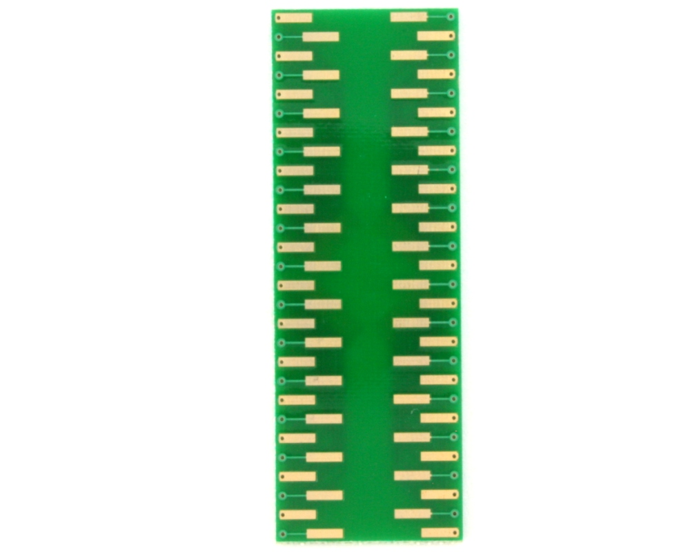 TQFP-56 to DIP-56 SMT Adapter (0.65 mm pitch, 10 x 10 mm body) 1