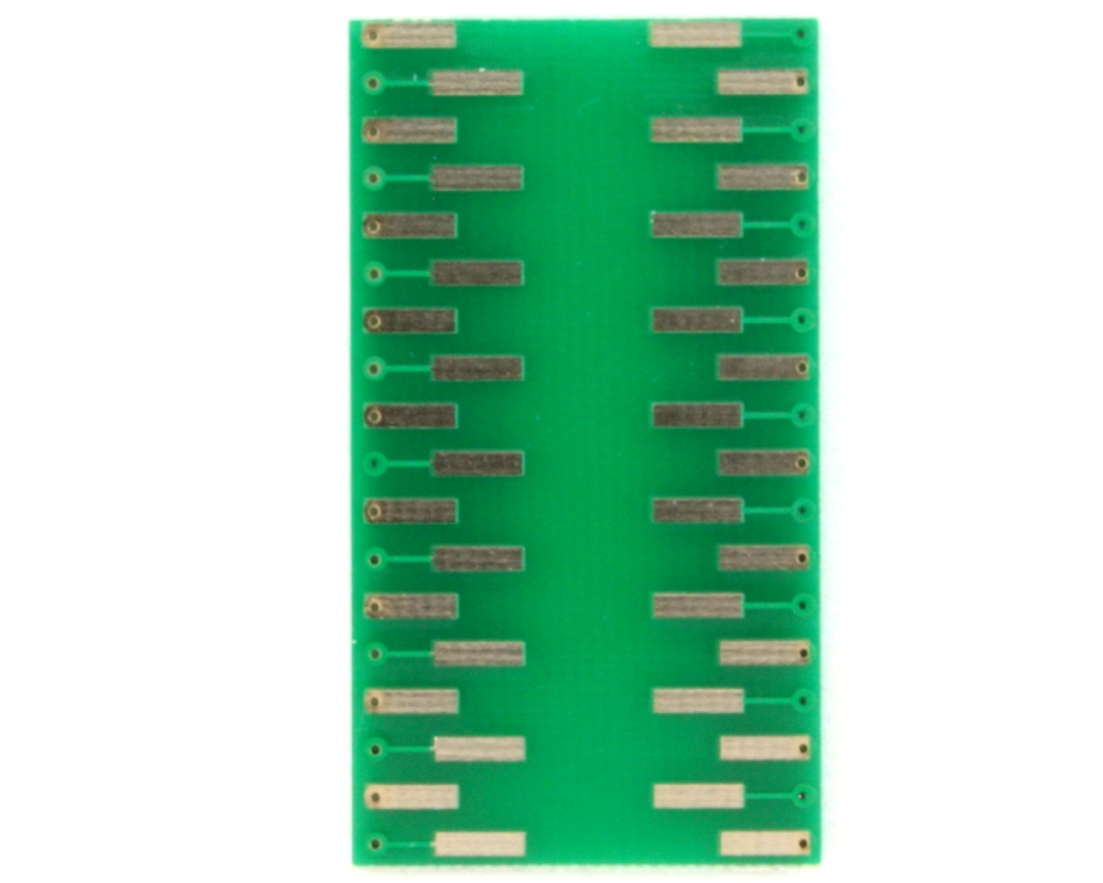 SOIC-36 to DIP-36 SMT Adapter (1.27 mm pitch, 10.16 mm body) 1