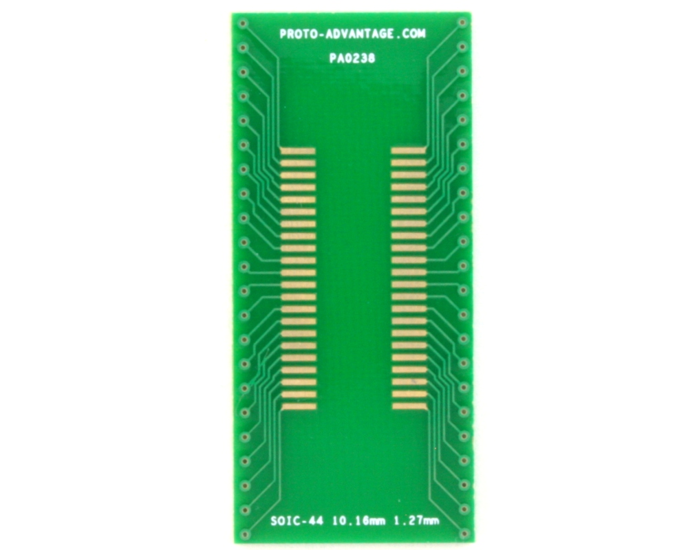 SOIC-44 to DIP-44 SMT Adapter (1.27 mm pitch, 10.16 mm body) 2