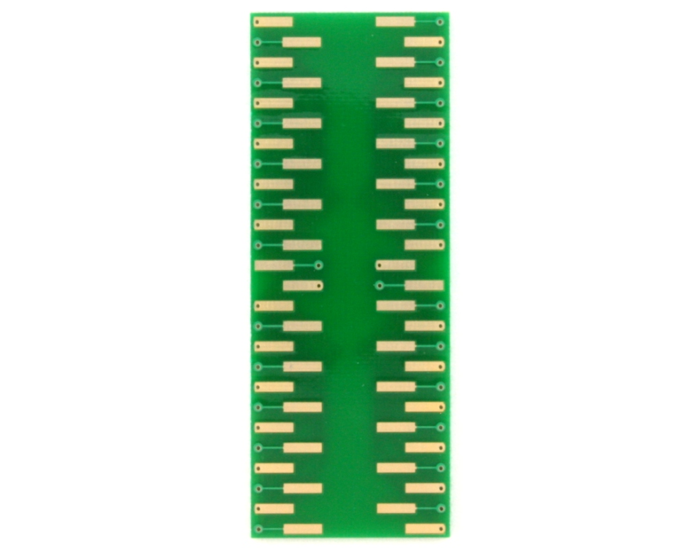 TQFP-52 to DIP-52 SMT Adapter (1.0 mm pitch, 14 x 14 mm body) 1